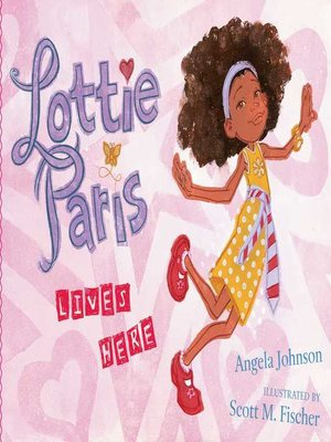 cover image of Lottie Paris Lives Here
