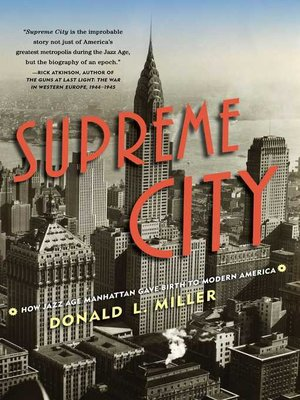 cover image of Supreme City