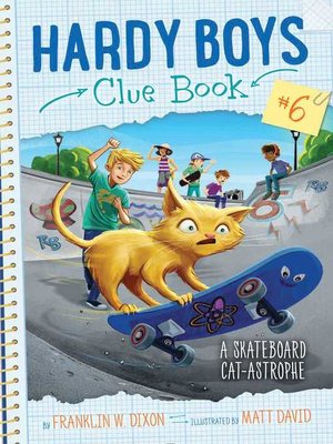 cover image of A Skateboard Cat-astrophe