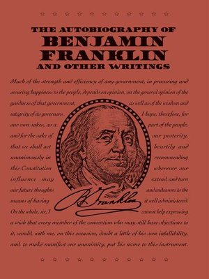 cover image of The Autobiography of Benjamin Franklin and Other Writings