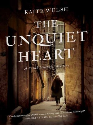 cover image of The Unquiet Heart