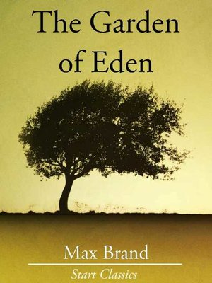 cover image of The Garden of Eden
