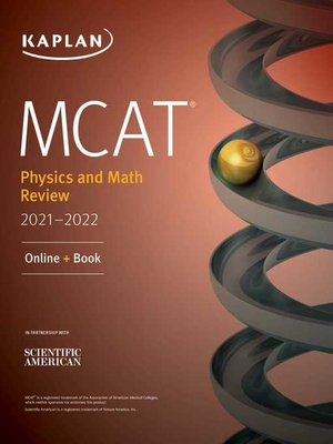 cover image of MCAT Physics and Math Review 2021-2022