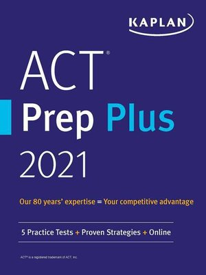 cover image of ACT Prep Plus 2021