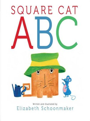 cover image of Square Cat ABC