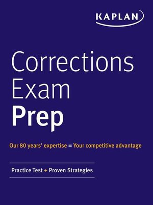 cover image of Correction Officer Exam Prep