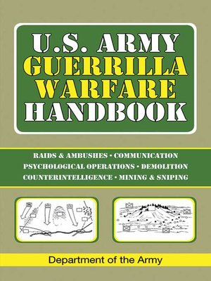 cover image of U.S. Army Guerrilla Warfare Handbook