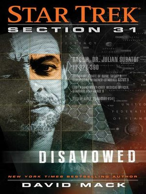 cover image of Section 31: Disavowed
