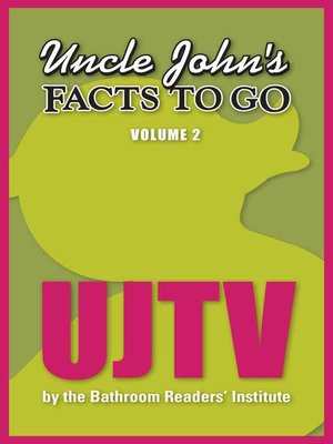 cover image of Uncle John's Facts to Go UJTV