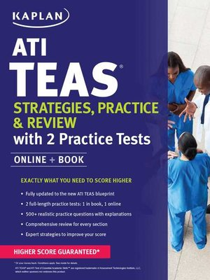 cover image of ATI TEAS Strategies, Practice & Review with 2 Practice Tests