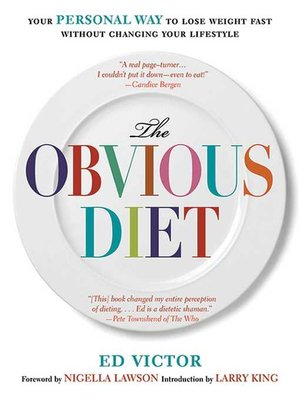 cover image of The Obvious Diet