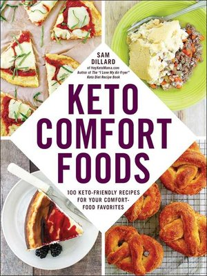 cover image of Keto Comfort Foods