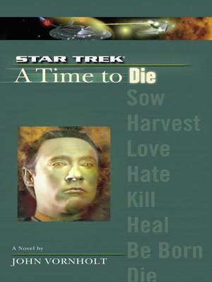 cover image of A Time to Die