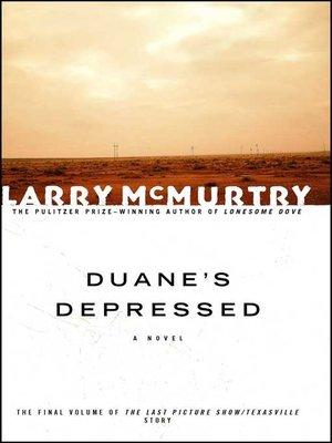 cover image of Duane's Depressed