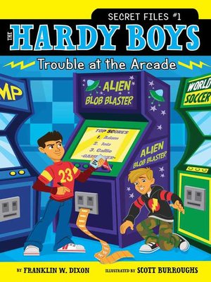cover image of Trouble at the Arcade