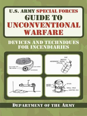 cover image of U.S. Army Special Forces Guide to Unconventional Warfare