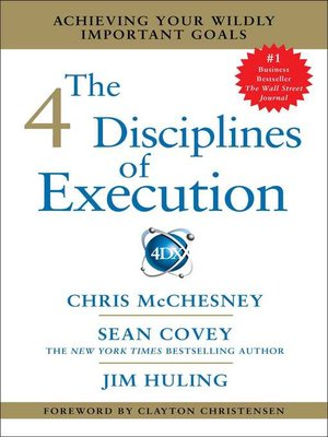 cover image of The 4 Disciplines of Execution