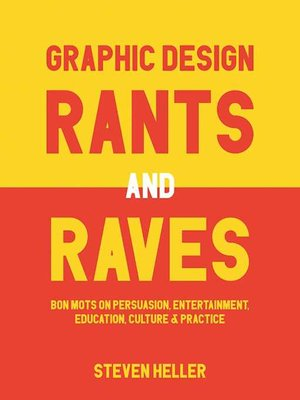 cover image of Graphic Design Rants and Raves