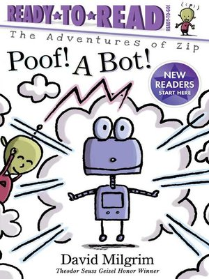 cover image of Poof! a Bot!