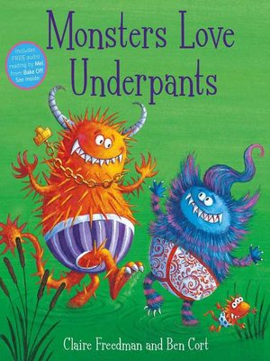 cover image of Monsters Love Underpants
