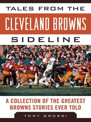 cover image of Tales from the Cleveland Browns Sideline
