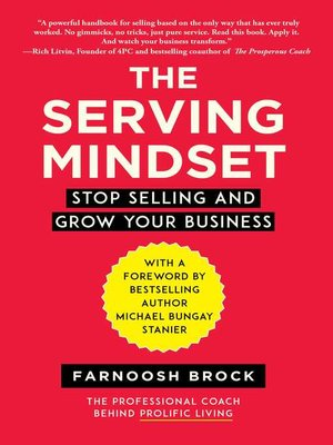 cover image of The Serving Mindset