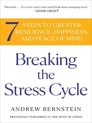 cover image of The Myth of Stress