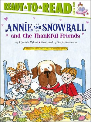 cover image of Annie and Snowball and the Thankful Friends