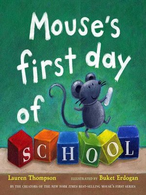 cover image of Mouse's First Day of School