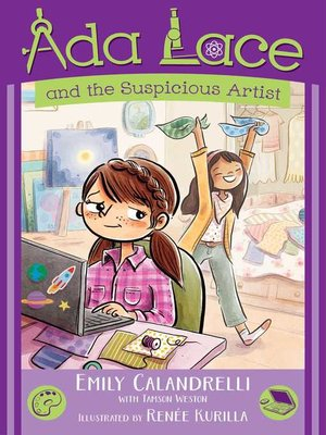 cover image of Ada Lace and the Suspicious Artist