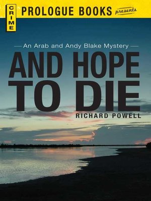 cover image of And Hope to Die