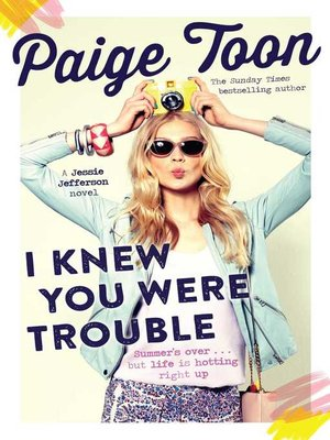 cover image of I Knew You Were Trouble