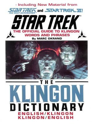 cover image of St Klingon Dictionary