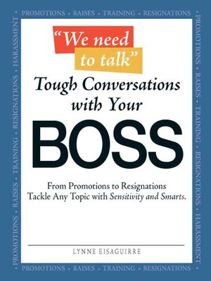 cover image of We Need to Talk--Tough Conversations With Your Boss