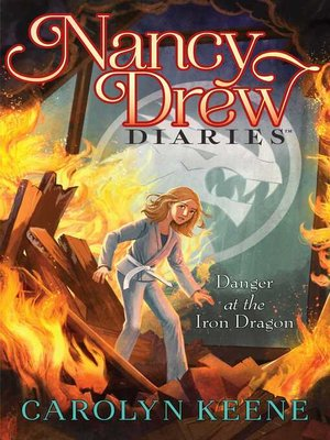 cover image of Danger at the Iron Dragon