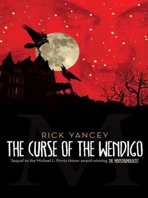 cover image of The Curse of the Wendigo