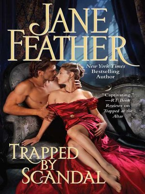cover image of Trapped by Scandal
