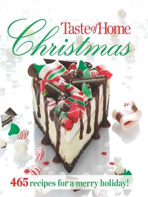 cover image of Taste of Home Christmas