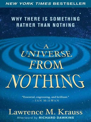 cover image of A Universe from Nothing