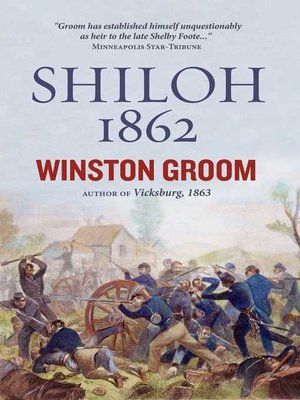 cover image of Shiloh, 1862