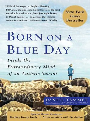 cover image of Born On a Blue Day