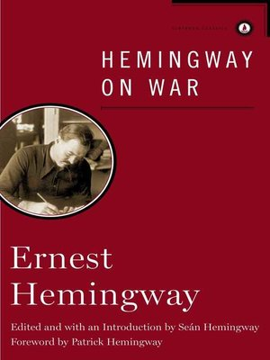 cover image of Hemingway on War