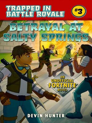 cover image of Betrayal at Salty Springs
