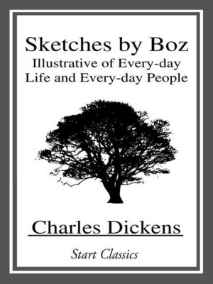 cover image of Sketches by Boz