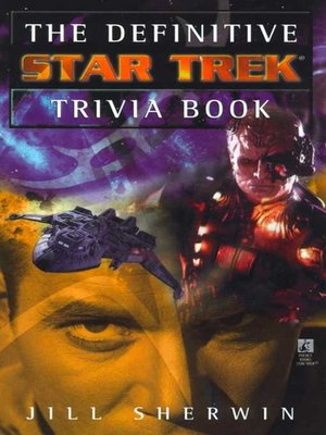 cover image of The Definitive Star Trek Trivia Book