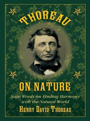 cover image of Thoreau on Nature