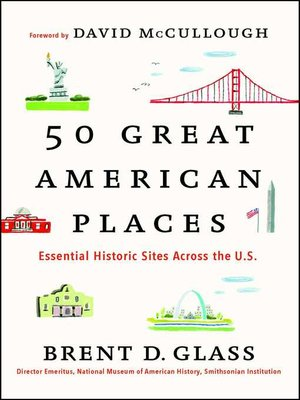 cover image of 50 Great American Places