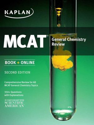 cover image of Kaplan MCAT General Chemistry Review