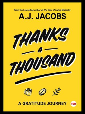 cover image of Thanks a Thousand