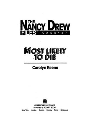cover image of Most Likely to Die